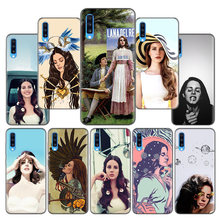 Lana Del Rey Engraçado Moda Padrão Case for Samsung Galaxy M10 M20 M30 M40 S10 5G S10e S9 S8 borda Mais Nota 8 S7 9 10 S8Plus(China)