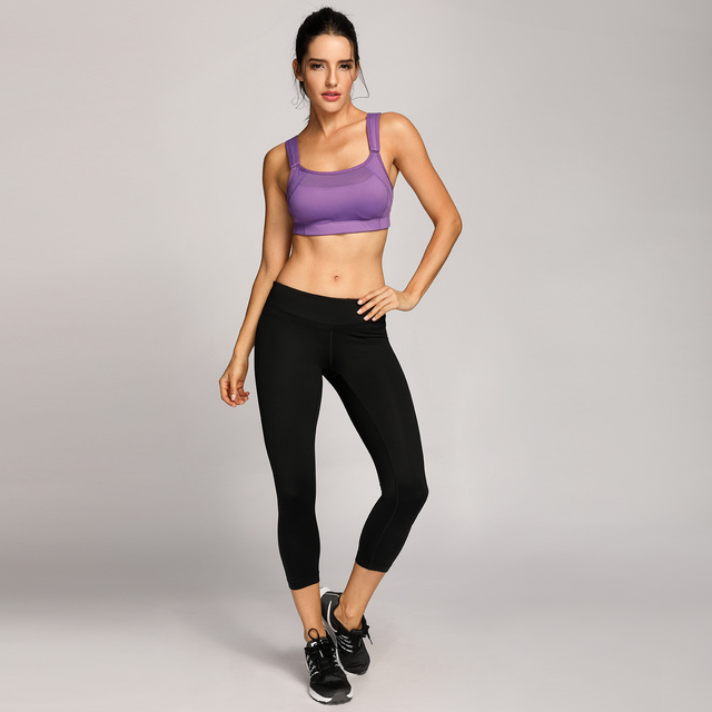 Bounce Control Wirefree Maximum Support High Impact Sports Bra
