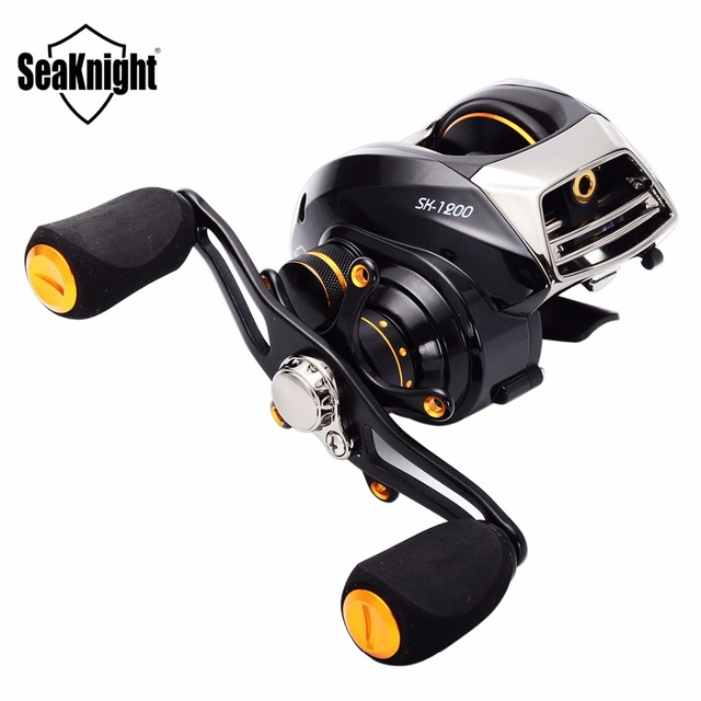 aliexpress : buy seaknight baitcasting reel 13+1 ball bearings, Reel Combo