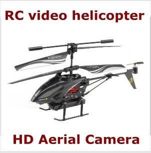3.5CH  Gyro RC Aerial helicopter with HD camera, video recording/light/USB charge, funny kids model toys + free shipping