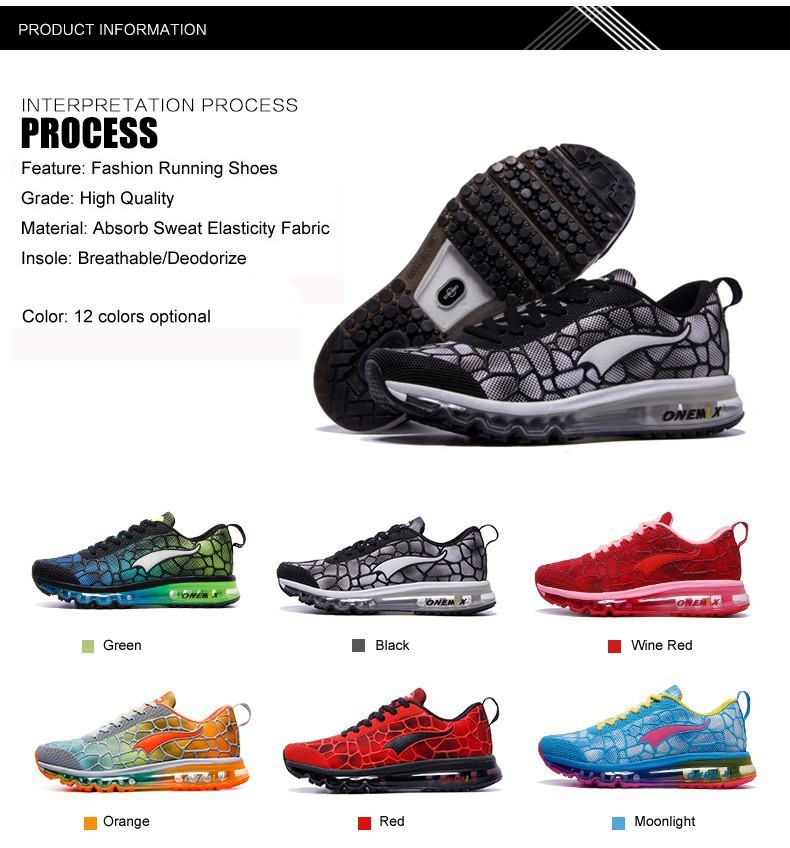 Onemix 17 New Women Running Shoes Air Mesh Breathable Sport Sneaker Athletic Trainers For Woman's Fitness Runner Lady Colorful 5