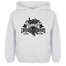 Punk Crooks Und schlösser Graffiti-kunst Hoodie Männer Frauen Junge Mädchen Sweatshirt Hip Hop Jacken Hoody Mode Streetwear Größe S-xxxl