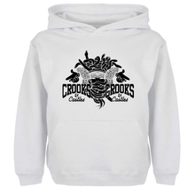 Punk Crooks And Castles Graffiti Art Hoodie Men Women Boy Girl Sweatshirt Hip Hop Jackets Hoody Fashion Streetwear Size S-xxxl