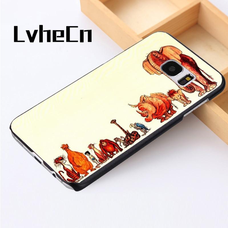 LvheCn phone case cover For Samsung Galaxy S3 S4 S5 mini S6 S7 S8 edge plus Note2 3 4 5 7 8 The Jungle Book Animals