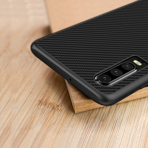 Image 5 - Huawei P30 Case Nillkin Synthetic Fiber Hard Back Cover Iron Magnetic Case for Huawei P30 Pro / P30 Lite