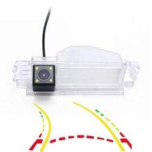 Умный динамический траектории треков HD Автомобильная камера заднего вида для renault dacia duster импульса Clio 2 Logan Sandero Stepway