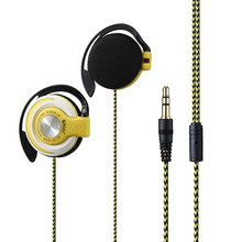 Ear Hook Headset Subwoofer Earphone Stereo Headphone 3.5mm Headset For Mobile Phone Headset Factory Price Free Shipping