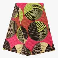 Hot sprzedaż materiał Afryki hollandais super i prawdziwy wosk wosk drukowania tkanin na ubrania VH23, 6 m/szt