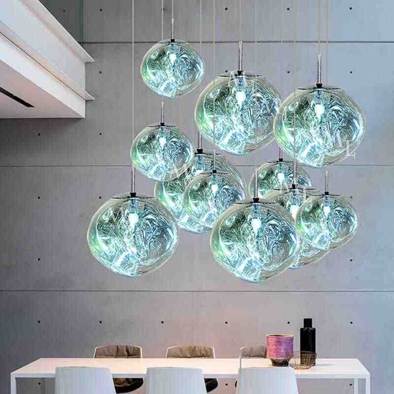 Modern LED DIXON Lights & Lighting Loft Chandelier Lustre Bar Hanging Lamp Living Room Chandliers Light Fixture Kitchen Fixtures
