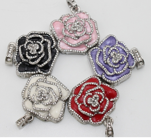 Զարդեր վարդի ծաղիկների նվեր USB Flash Drive - Արտաքին պահեստավորման սարքեր - Լուսանկար 2