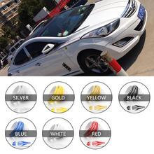 12mm x 980cm Car Body Striping Sticker Double Line Tape Vinyl Decal Pinstripe Car Stickers and Decals Funny Car Stickers Auto carcardo 40cm x 200cm car headlight taillight tint vinyl film sticker car smoke fog light viny stickers decals car styling