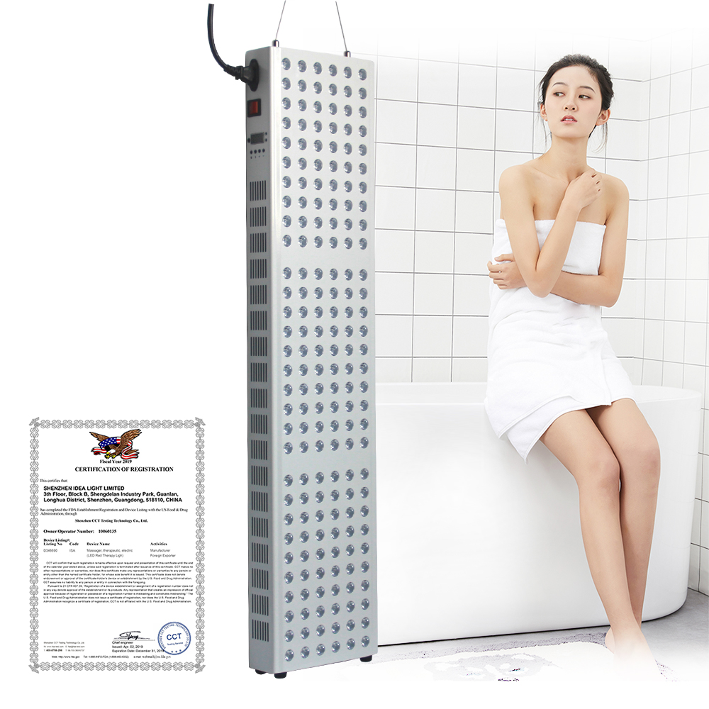 TL300 Fda Approved Led Light Therapy 660nm 850nm Led Red Light Therapy Panel Fda For Skin Beauty