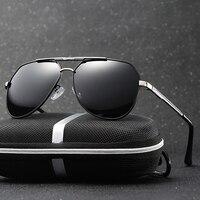 Men Polarized Pilot Sunglasses Brand Designer Vintage Driving Gafas Oculos De Sol Masculino Original With Eyewear