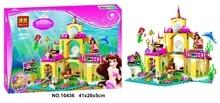 Bela 10436 The Mermaid Series Undersea Palace Princess Bricks Minifigures Building Block Toys Best Toys