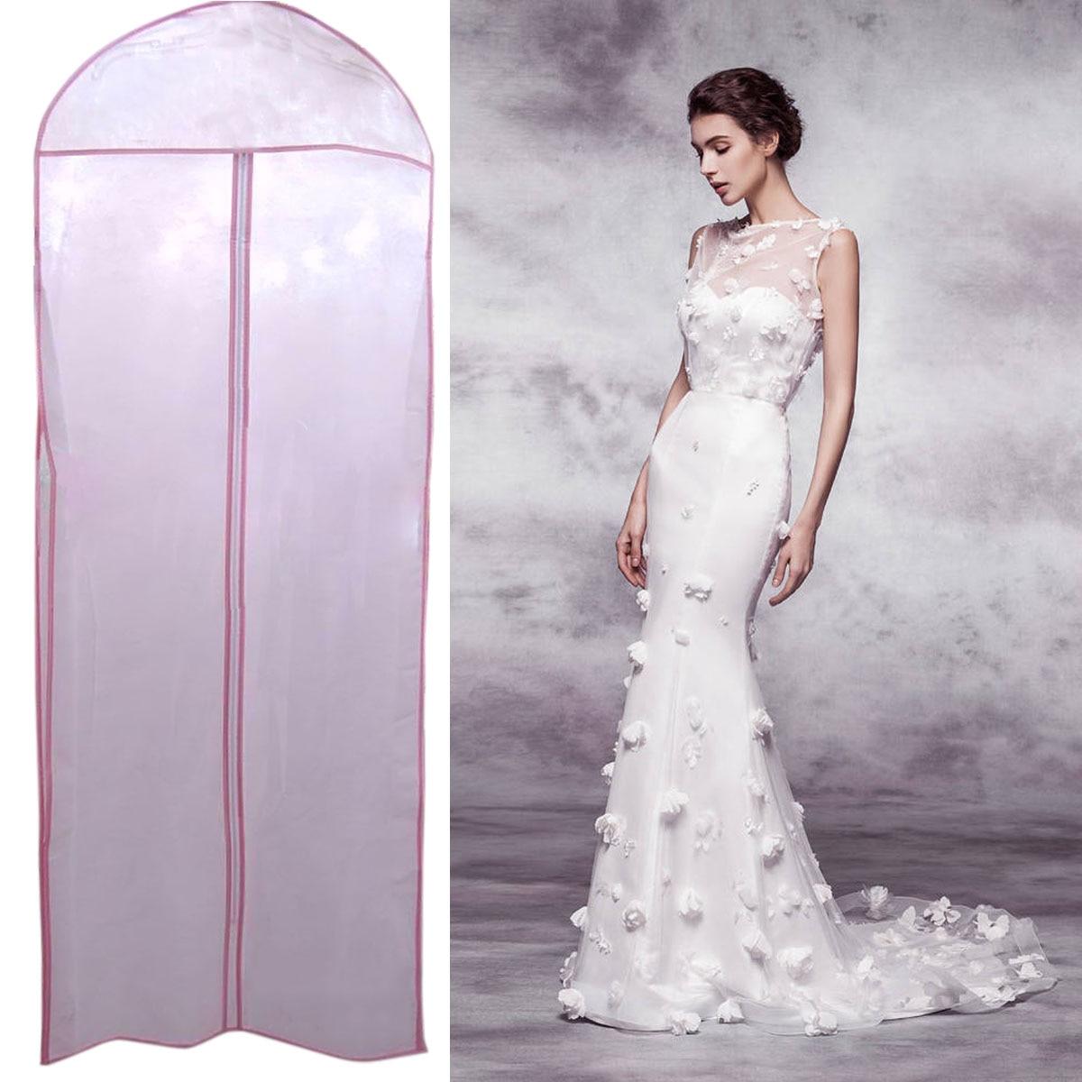 Wedding Gown Preservation Bag: 180 X 58 X 8cm Women Bridal Wedding Dress Gown Robe