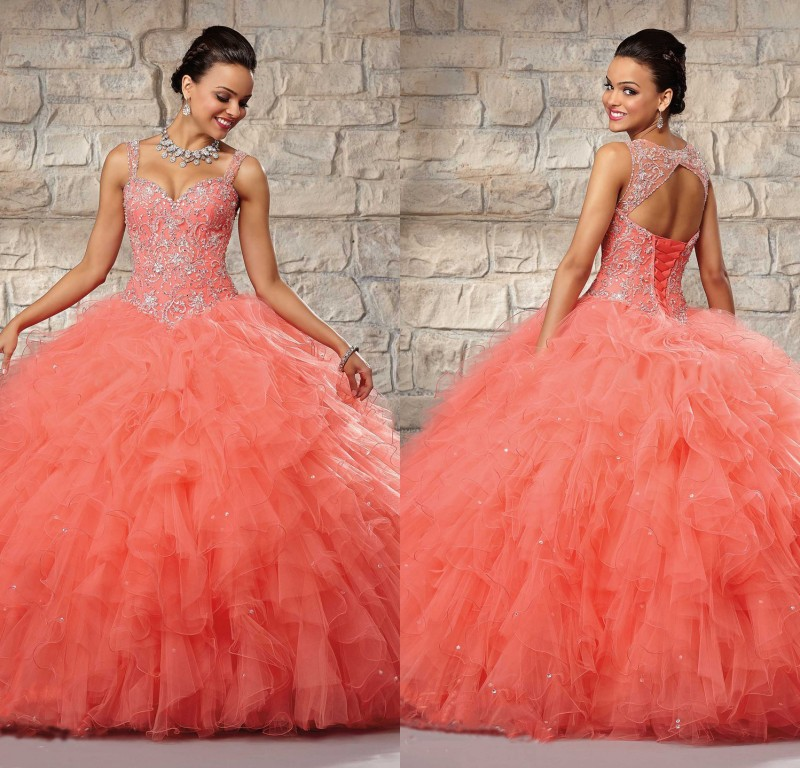 Aliexpress.com : Buy New Arrival Quinceanera Dress 2015 Sweet 16 ...