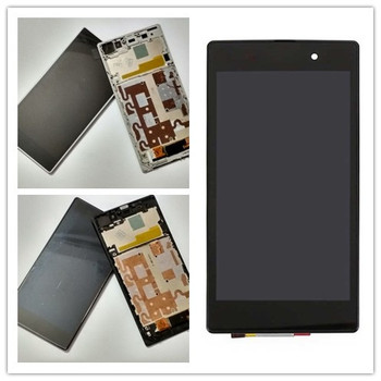 JIEYER For Sony Z1 LCD Display Touch Screen Digitizer For SONY Xperia Z1 LCD With Frame L39H C6902 C6906 C6903Screen Replacement цена 2017