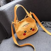 mini female bag canvas
