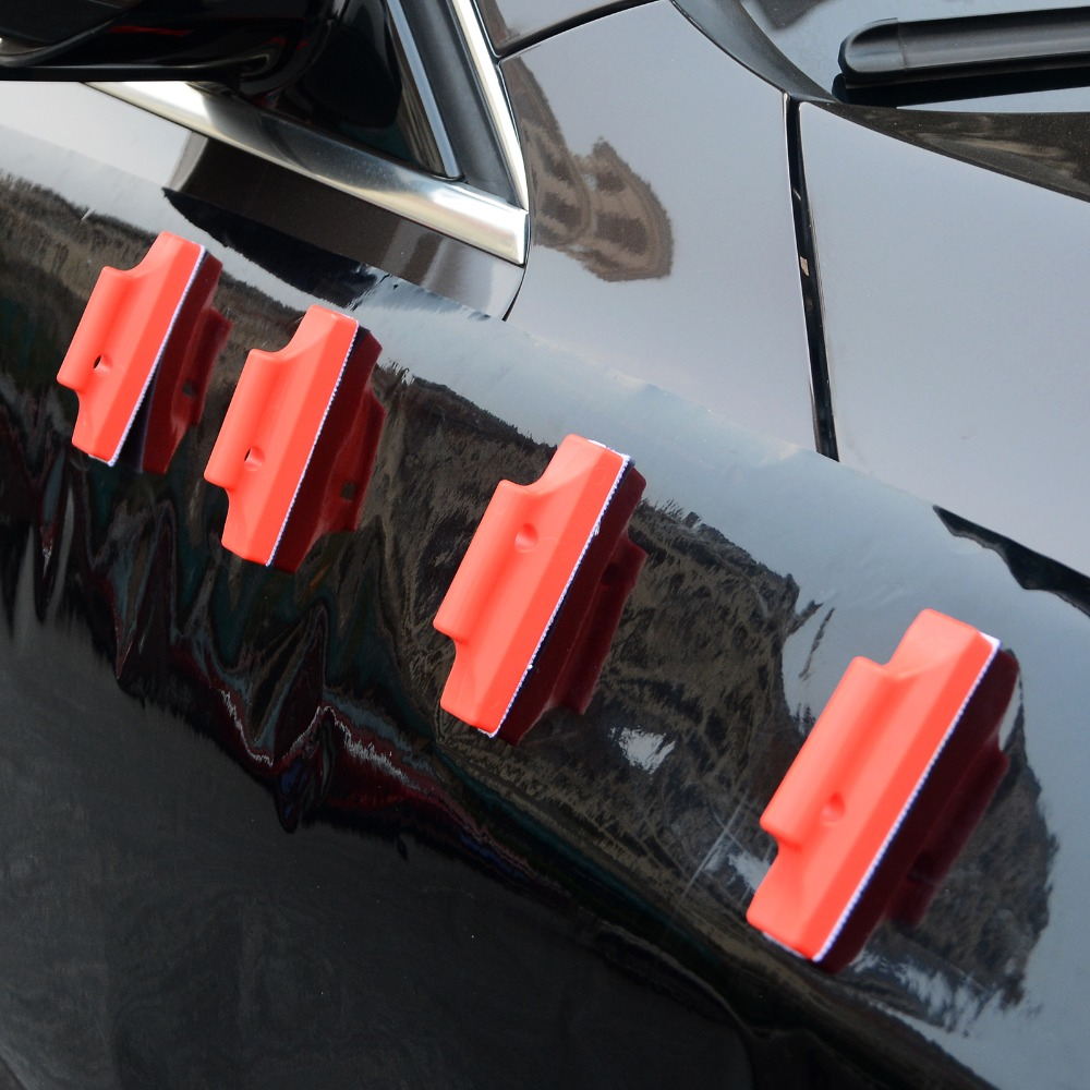 EHDIS 6pcs Powerful Car Film Magnet Holder 5D Carbon Vinyl Car Wrap Gripper Magnetic Holder Auto Car Sticker Wrapping Fix Tool in Car Stickers from Automobiles Motorcycles