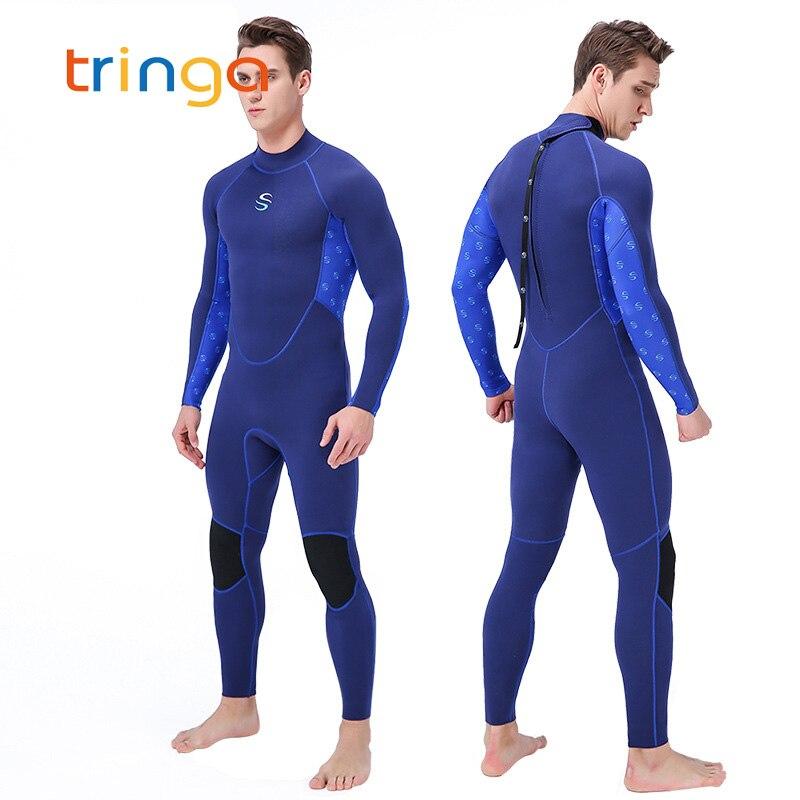Nouveau 2MM néoprène UPF 50 + combinaisons pour hommes plongée sous-marine surf natation une pièce combinaison humide homme Anti-UV porter des vêtements de sport de surf
