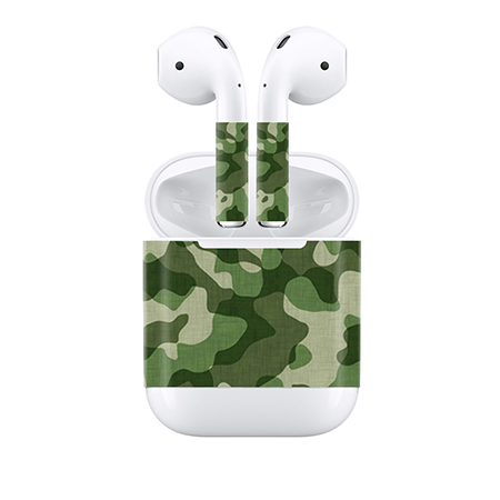 Us 2 98 Free Drop Shipping Customizable For Apple Airpods Skin Stickers Custom Made Personalized Decal Tn Apod 0010 In Stickers From Consumer