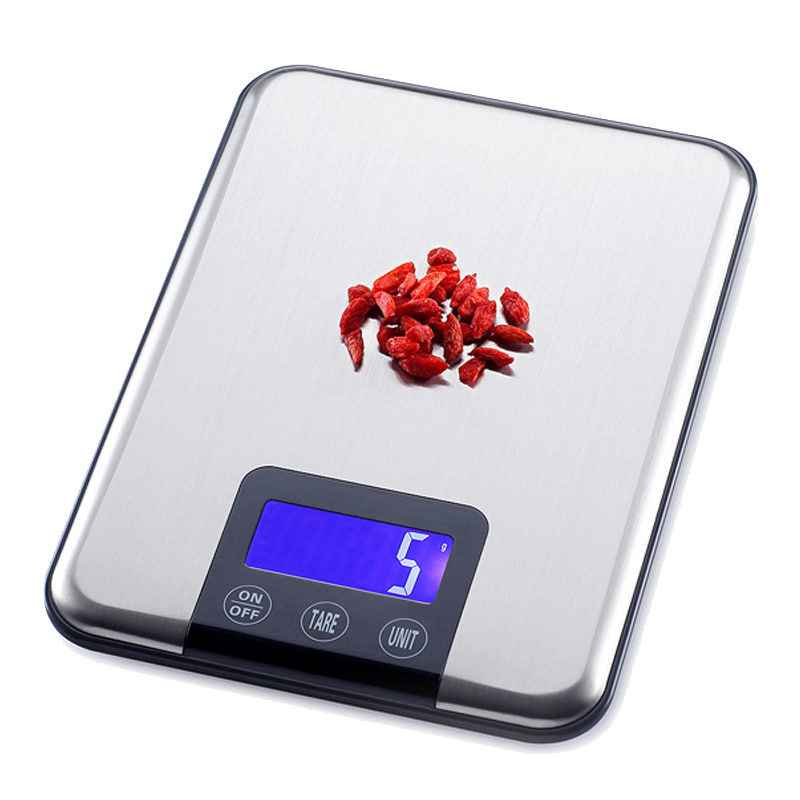 15kg/1g Digital Kitchen Scales Stainless Steel Multi-function Food Diet Kitchen Weight Scale Electronic Balance Cooking Tools