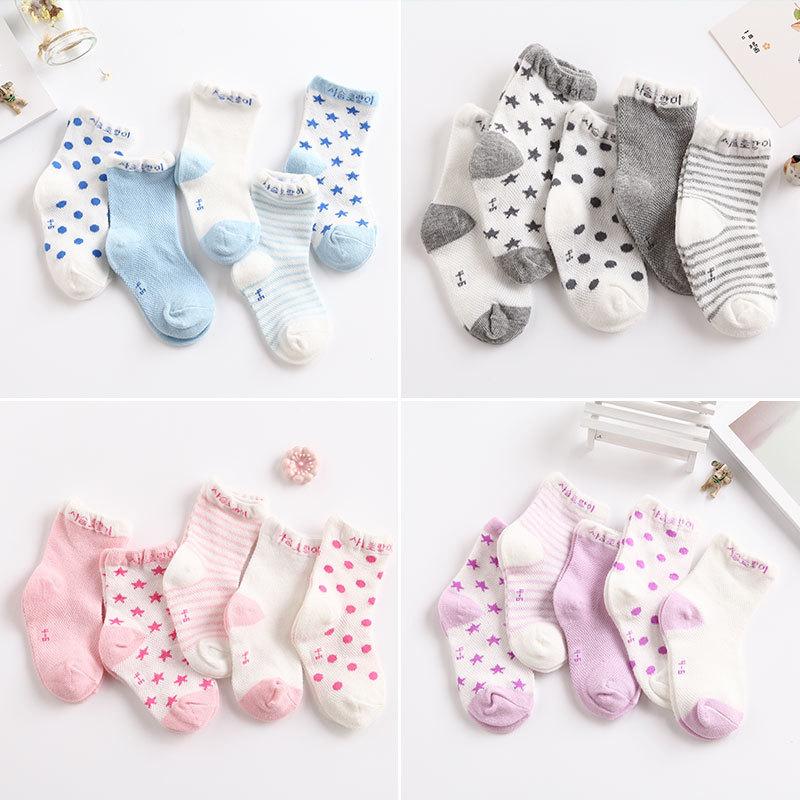 Summer Baby Girls Kids Toddler Socks Cotton Lace Princess Ankle Mesh SocksRASK