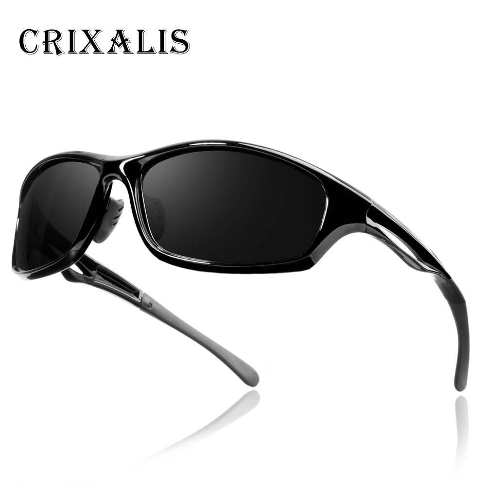 Crixalis Brand Designer Men's Sunglasses Polarized Driving Sun Glasses For Men Women Goggles Eyewear Night Vision Glasses CL3365