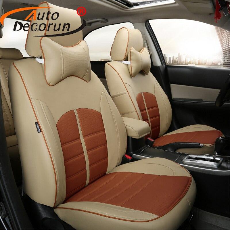 Autodecorun custom fit покрывает автокресло для Land Rover Range Rover Sport аксессуары сиденья комплекты для сидений автомобилей поддерживает колодки