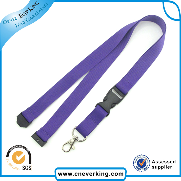 Free shipping Factory directly polyester custom Blank lanyard for keys for mobile / China lanyard maker with low price