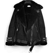 Winter Mens clothing imitation rabbit fur grass lamb hair jackets Men tide motorcycle Fashion flight suit Loose cotton Outerwear