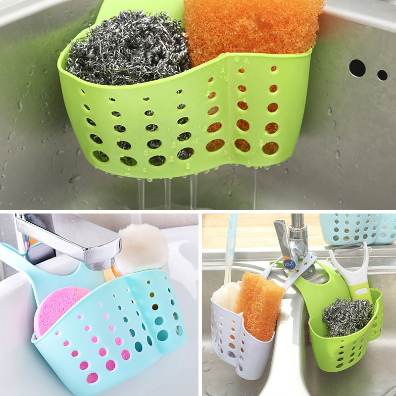 Kitchen Sink Dish Drainer Rack Bathroom Restroom Kitchen Organizer Soap Sponge Drain Rack Kitchen Storage Accessories Stuff
