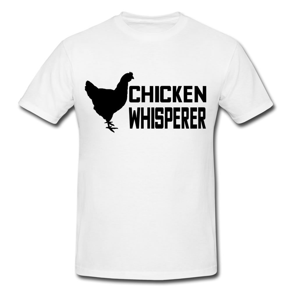 Chicken Whisper Funny Mens or Lady Fit T Shirt T-Shirt Funny Gift Novelty Cool Casual pride t shirt men Unisex New Fashion