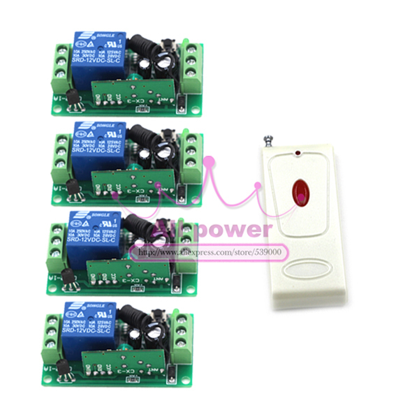 Hot remote control switch 12v rf garage door remote control learning code light relays momentary rf switches [vk] mcbc1250cl ssr 50a burst fire control 10v relays