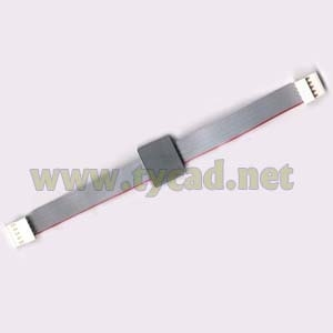 C3195-60102 Ribbon cable with ferrite connectors 16.5cm(6.5in)long for DesignJet 700 750 755 plotter parts used pen carriage assembly for designjet 700 750 755 c4705 69113 c4705 60113 c4708 69113 plotter parts page 7