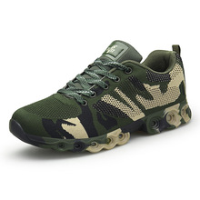 2019 summer new camouflage flying sneakers mens outdoor casual running shoes