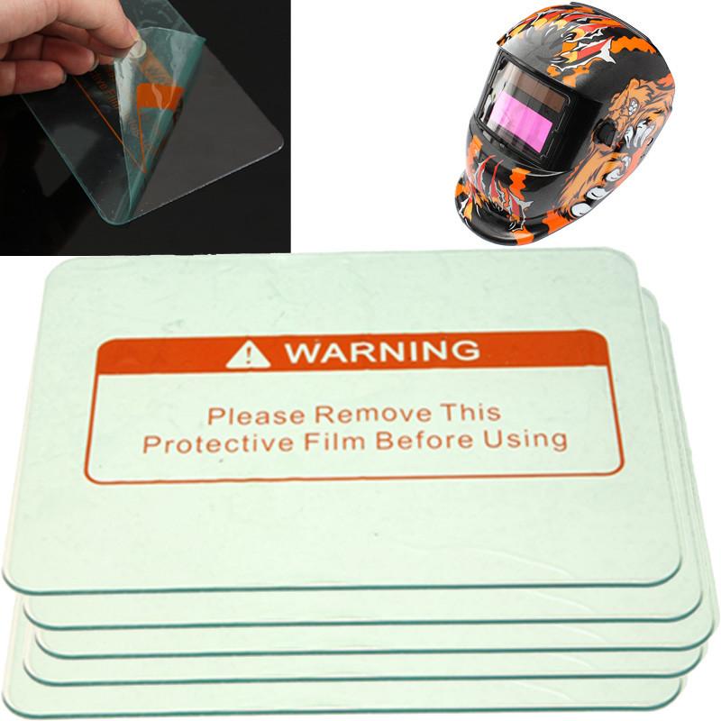 5 Protectores de cubierta del filtro de soldadura de oscurecimiento automático