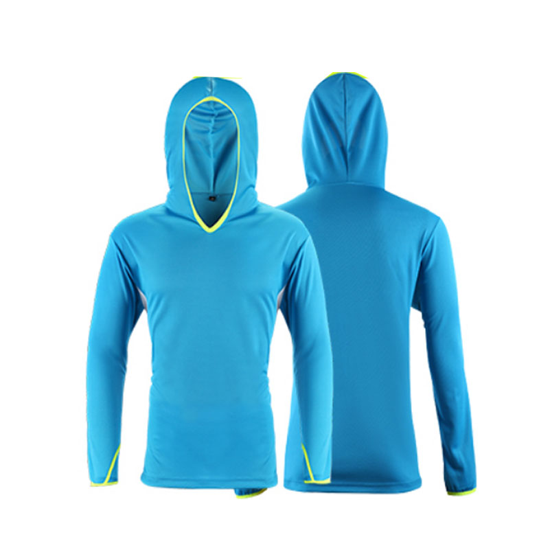 Fishing Shirt Long Sleeve With Hood Cheap Breathable Anti UV Sun Protection Outdoor Hiking Angling Men Women T Shirts