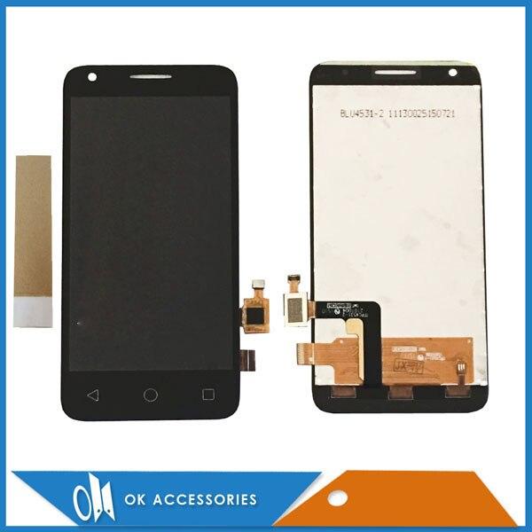 Black White For Alcatel One Touch Pixi 3 4.5 4027D 4027X OT4027 4027 OT5017 OT5017E OT5017D LCD Display+Touch Screen With TapeBlack White For Alcatel One Touch Pixi 3 4.5 4027D 4027X OT4027 4027 OT5017 OT5017E OT5017D LCD Display+Touch Screen With Tape
