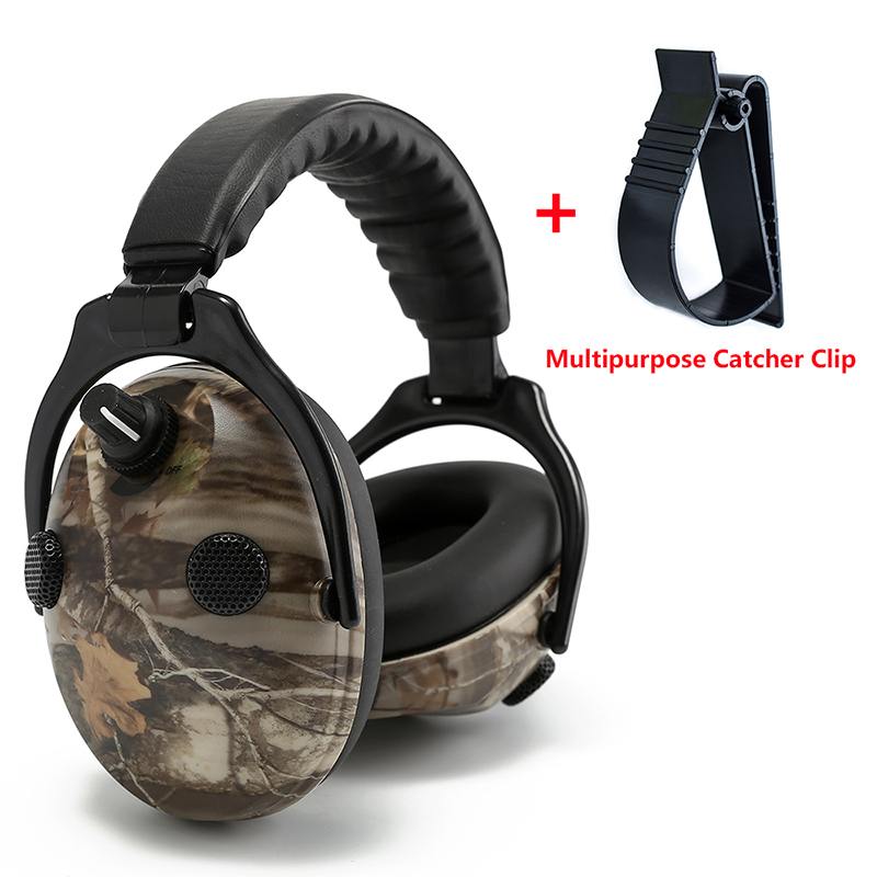 Tactical Headset for Shooting Hunting Hearing Protection Electronic Hunting Headphones Noise Reduction Ear Protector Earmuffs leshp tactical sport headphones for hunting shooting sport noise tac 6s hearing protector earmuffs folding protection