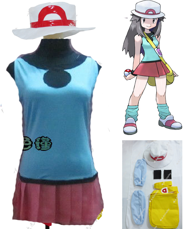 Pokemon Green Cosplay