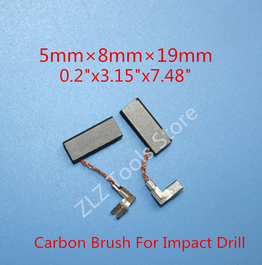 Carbon Brushes  For Bosch GBH2-26DFR BOSCH 26 GBH2-26E GBH2-26RE GSB20-2RCE Drill Rotary Hammer