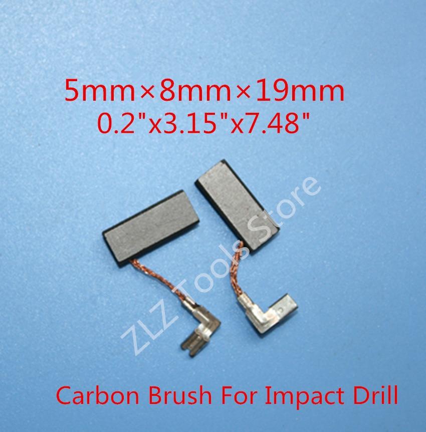 26/DFR//GSB 20 26/Dre//GBH 2 Balais de charbon pour Bosch GBH 2 2