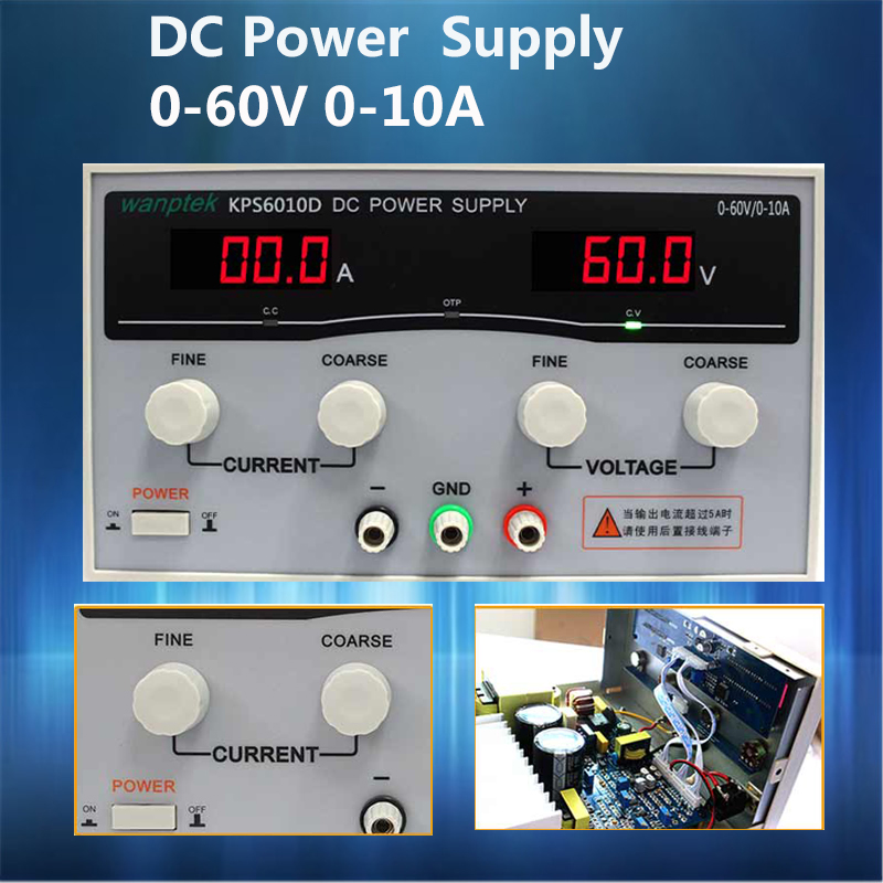 High quality adjustable display DC power supply 0-60V 0-10A high power switching power supply voltage regulators rps3020d 2 digital dc power adjustable power 30v 20a power supply linear power notebook maintenance