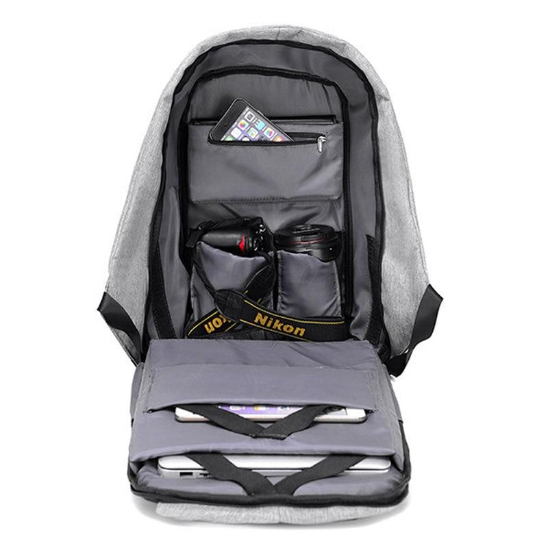 anti-roubo de mochila mochilas homens Size : 43*29*13 CM