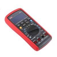 Цифровой мультиметр uni t DC/AC Напряжение измеритель тока ручной Амперметр Ом Емкость диода тестер 60000 отсчетов Multitester