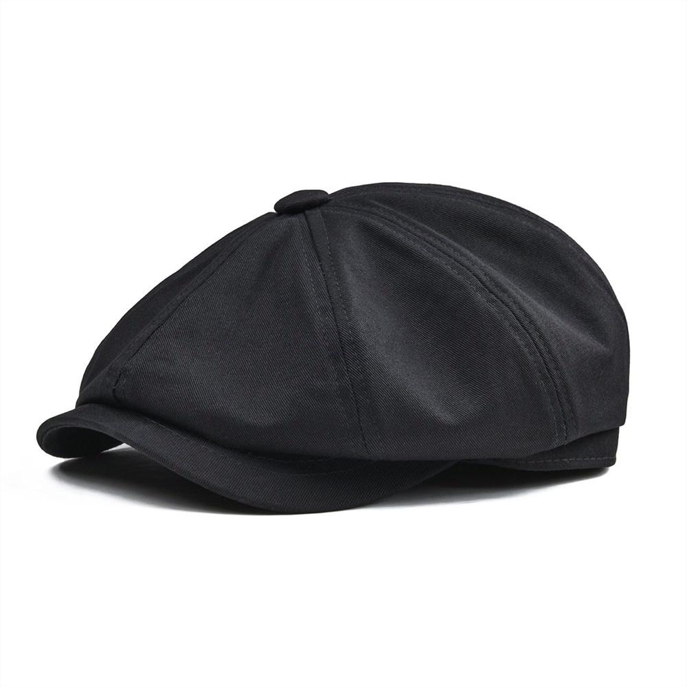 Кепка BOTVELA Newsboy, мужская Кепка из Твила, хлопковая кепка с восьмипанелями, кепка для женщин, Кепка для пекаря, большие ретро шапки для мужчин, черный Берет Boina 003|Мужские кепки-восьмиклинки|   | АлиЭкспресс