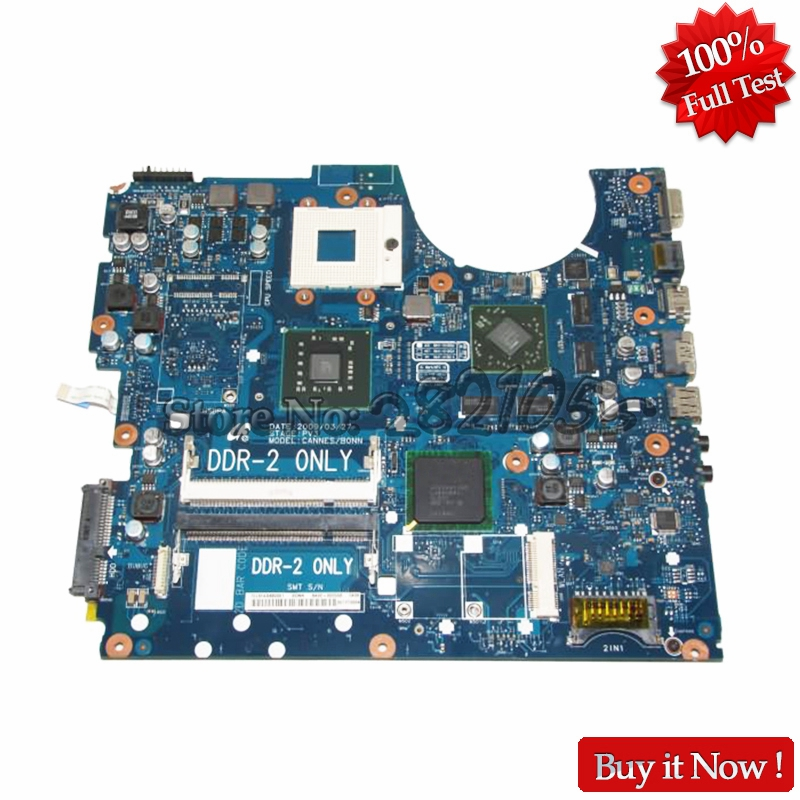 NOKOTION BA92-05556A For Samsung R520 R522 R620 Laptop motherboard pm45 DDR2 with graphics card Free CPU nokotion laptop motherboard for toshiba a500 intel gm45 ddr2 with graphics slot k000078380 kskaa la 4991p free cpu