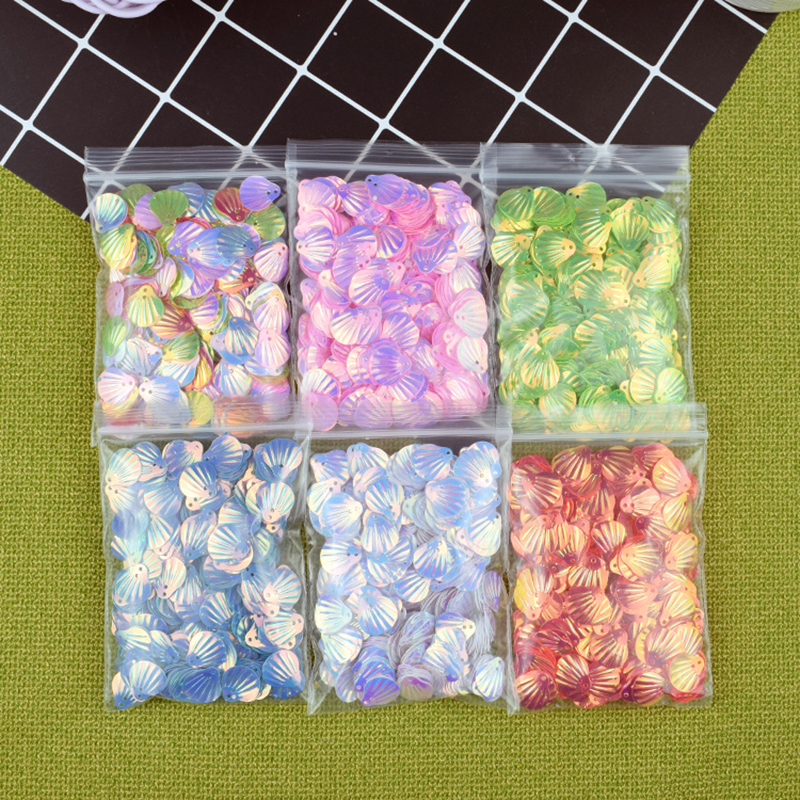 Modeling Clay Stuffing Pearl Shell Sequins Beauty Shell Mud Fill DIY Glitter Slime Fairytale Dream Slime DIY Supplies Decoration