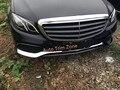 3 шт. ABS Передний Бампер Полосы Крышка Накладка Для Benz E-Class Sedan W213 2016 2017